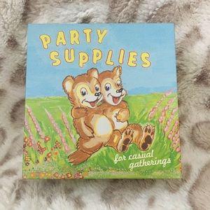 Party Supplies Tin Box